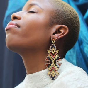 Earrings, GBP110, thechalkhouse.com