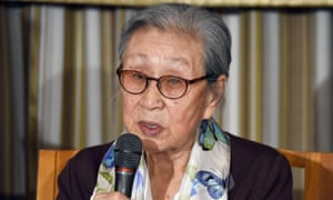 Former South Korean 'comfort woman' Kim Bok-dong, who asked the Japanese prime minister for an official apology and reparation