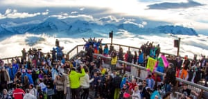 La Folie Douce  hosting an après ski parties