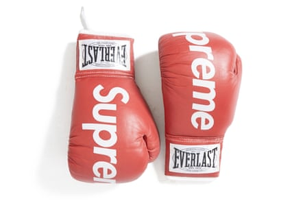 Supreme boxing gloves from 2008.