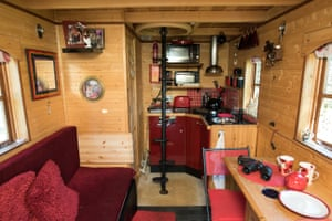Interior of Tiny House shed