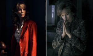 Hilary Swank as Gail Getty in Trust, and Michelle Williams as Gail Getty in All the Money in the World.