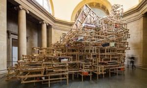 'Dock' by Phyllida Barlow at Tate Britain.