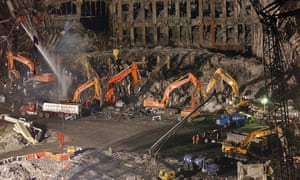Few full bodies were recovered after the giant towers of New York's World Trade Center burned and collapsed.