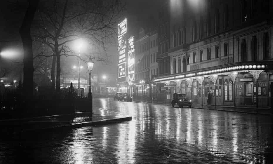 Leicester Square, London, in the 1930s.