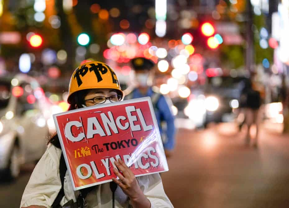 One Tokyo resident voices the view of many in the buildup to the Olympics.