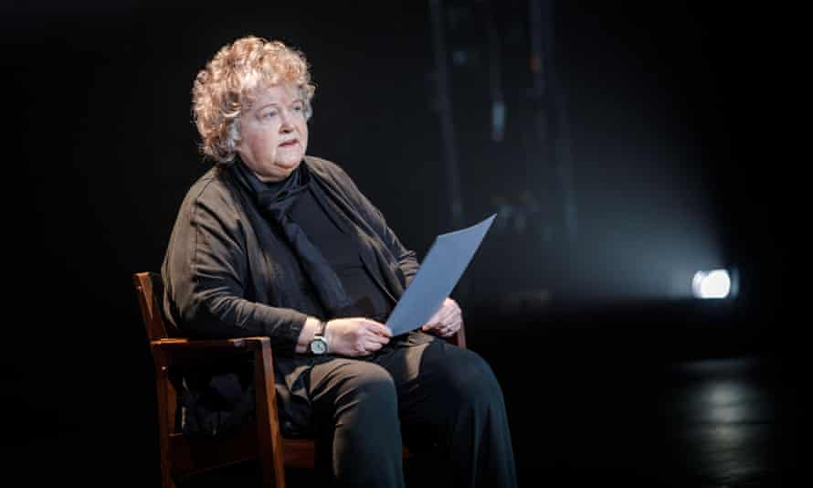 Brenda Fricker reading testimony from Patricia Breaden.