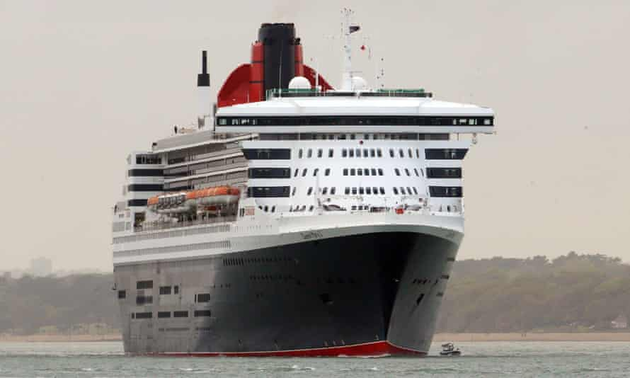 The Queen Mary 2 luxury liner