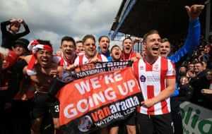Lincoln City made it to the League Two play-offs in the first season back in the Football League.