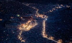 The world's largest Buddhist academy, Larung Gar, Tibet