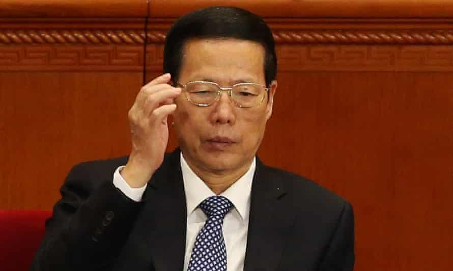 Zhang Gaoli is one of China's seven most powerful politicians.