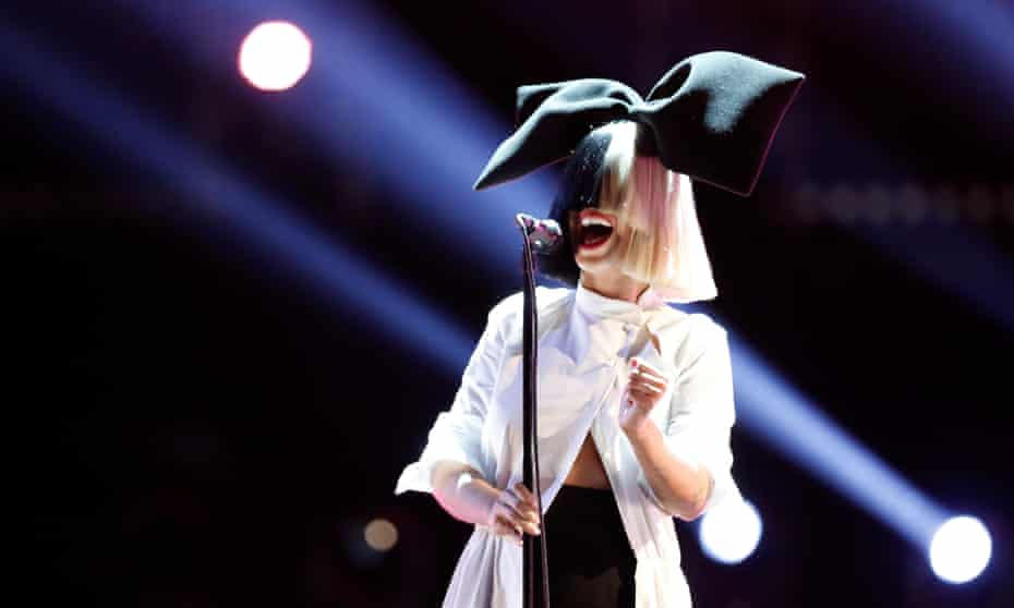 Sia on BBC1's The Voice