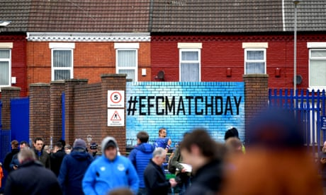 Everton v Crystal Palace: Premier League –live!
