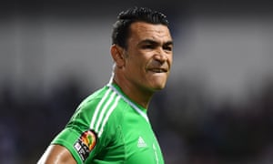 Essam el-Hadary during the 2017 Africa Cup of Nations. He has described playing at the World Cup as a dream.