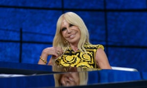 No more fut: Donatela Versace has told a magazine she does not want to kill animals to make fashion.