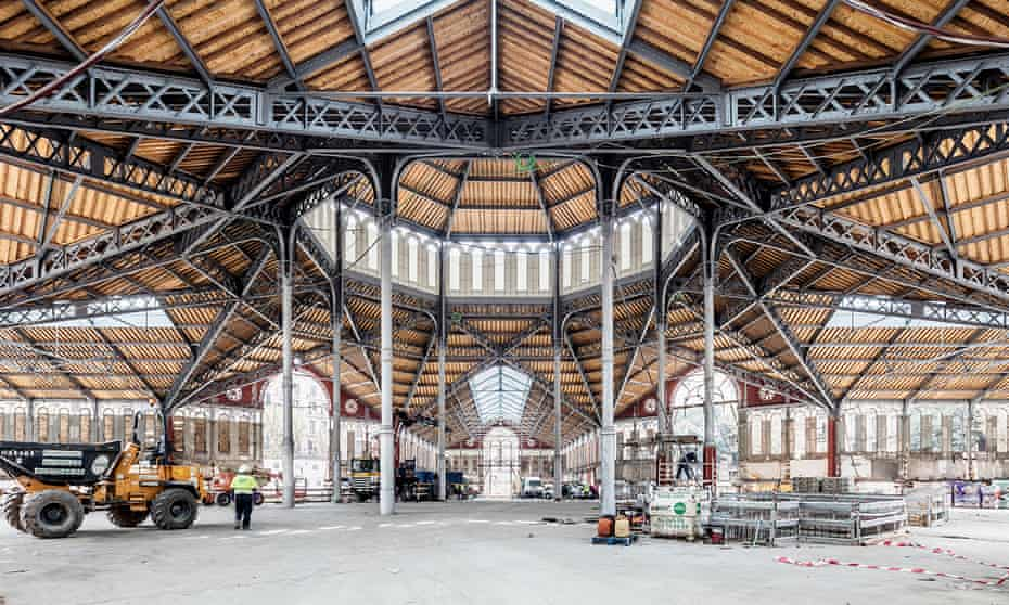 The renovation of the Mercat Sant Antoni took nine years.
