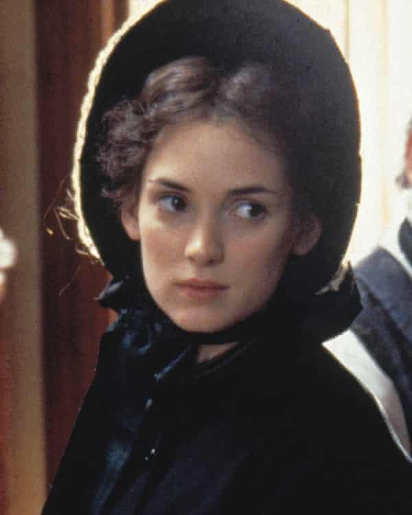 Winona Ryder as Jo in the 1994 film version of Little Women.