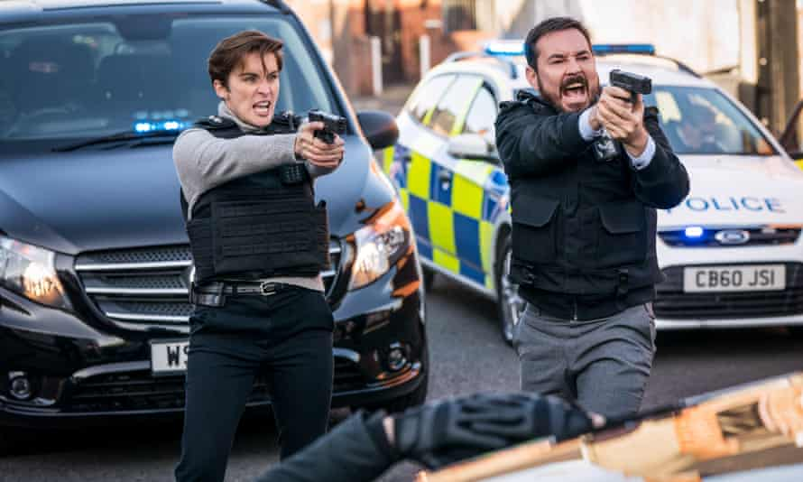 Nowhere left to go ... DI Kate Fleming and DI Steve Arnott in the Line of Duty finale.