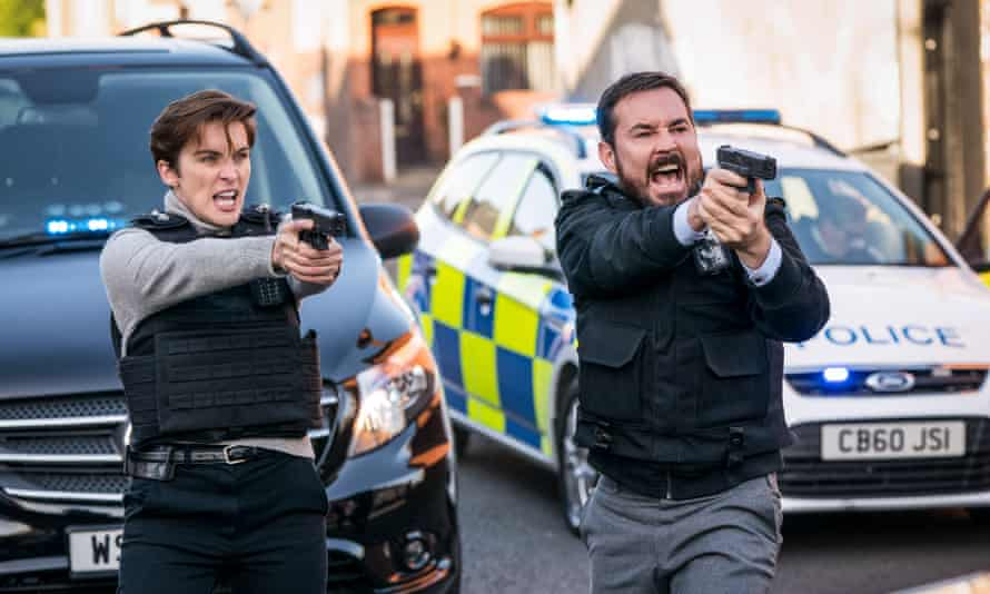 Episode still from series six of Line of Duty.