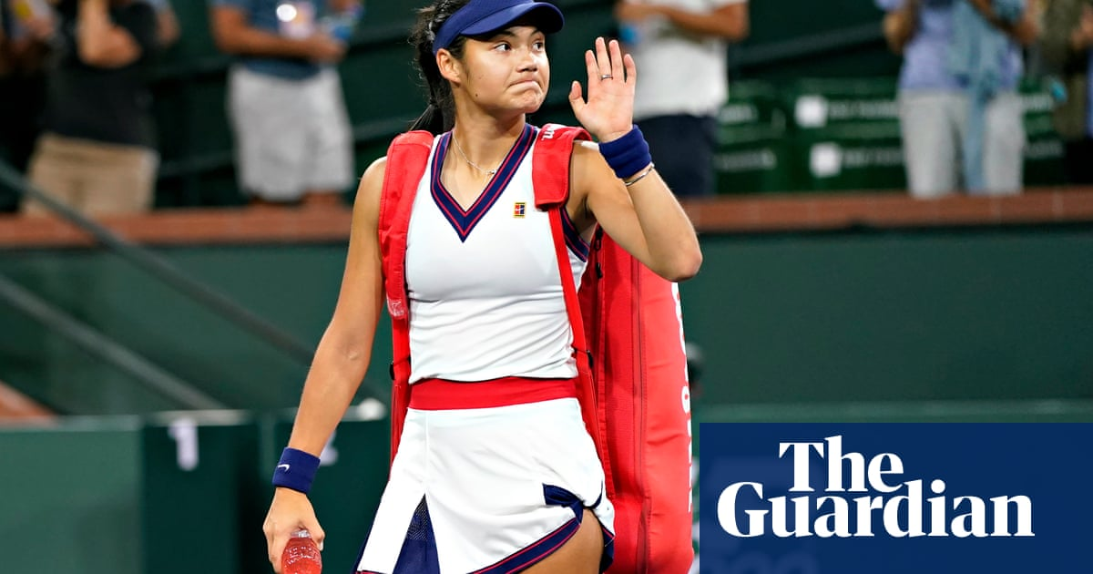Emma Raducanu falls to defeat in first outing since US Open triumph
