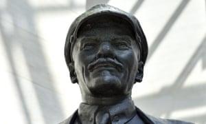The Eislebener Lenin statue at the German Historical Museum in Berlin
