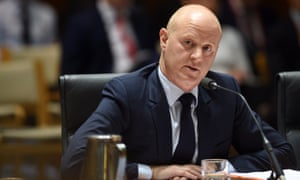 Commonwealth Bank chief executive Ian Narev at the House of Representatives standing committee on Economics annual public hearing on Tuesday.