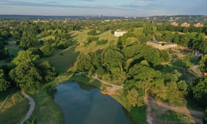 Go wild in the city ... the 96-hectare space has been transformed into a natural attraction and recreation park.