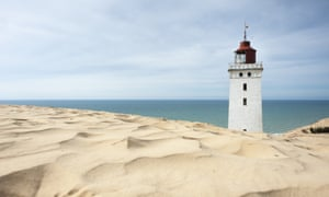 Jutland lighthouse