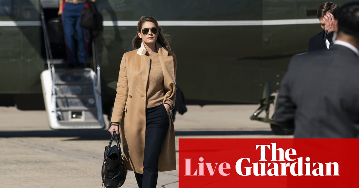 Coronavirus live news: Trump awaits Covid test result after close aide Hope Hicks catches virus – The Guardian
