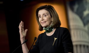Nancy Pelosi did not mince her words when she was asked on CNN about the president taking hydroxychloroquine