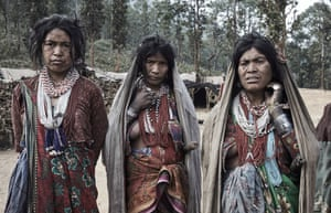 Traditional clothing is still worn amongst the Raute people and they remain cut off from most of the outside world