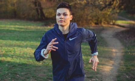 Georgie Okell running