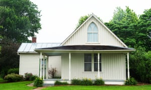 'Neat as a pin': the American Gothic house in Eldon, Iowa, made famous by Grant Wood.