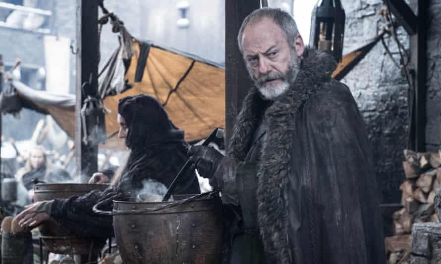 Souper trouper ... Davos (Liam Cunningham) serves up.