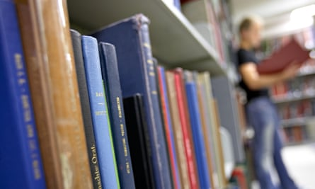 How to books get into academic libraries?