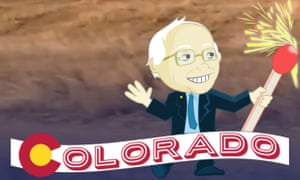 Bernie Sanders Snapchat Hillary Clinton