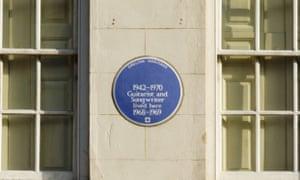 """""""Blue plaque"""""""
