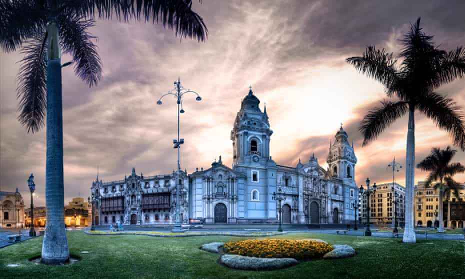 Lima Cathedral in Peru.
