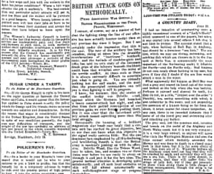 Manchester Guardian, 21 July 1916.