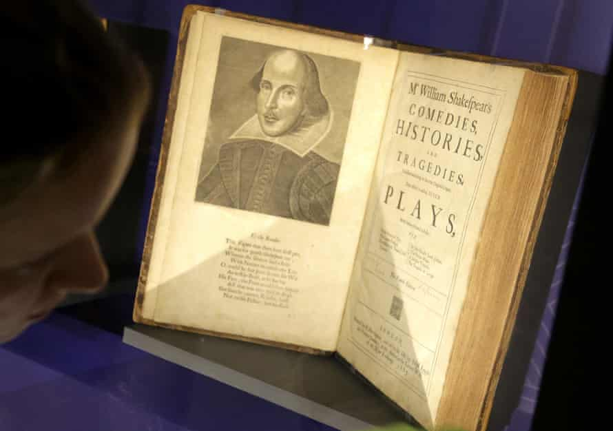Who wrote what … the Shakespeare Unauthorized exhibition at Boston Public Library, in 2016.
