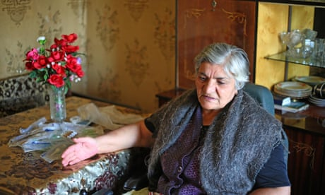 Disabled Armenian stuck at home for 10 years after neighbours block access
