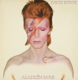 'Aladdin Sane' Album Cover