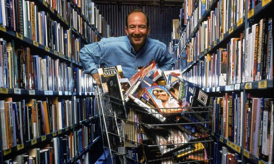 Jeff Bezos in Seattle, Washington, September 1998