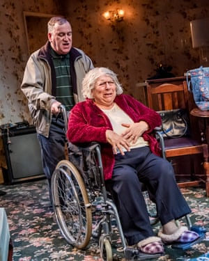 Mark Hadfield and Miriam Margolyes in Sydney and the Old Girl by Eugene O'Hare.