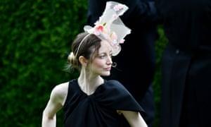 Andrea Riseborough at Royal Ascot on Thursday.