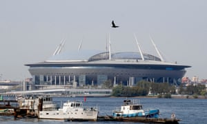St Petersburg is due to host four Euro 2020 matches, a tournament with venues all around the continent.