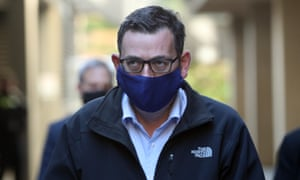 Victorian premier Daniel Andrews has announced that masks will be mandatory in Melbourne and the Mitchell shire from Wednesday as the state battles a second wave of coronavirus infections, including an additional 363 cases.