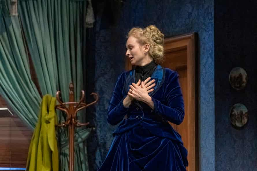 Ksenja Logos (Bella Manningham) in STCSA's 2020 production of Gaslight, the first main stage play to be shown in Australia after extended lockdowns.