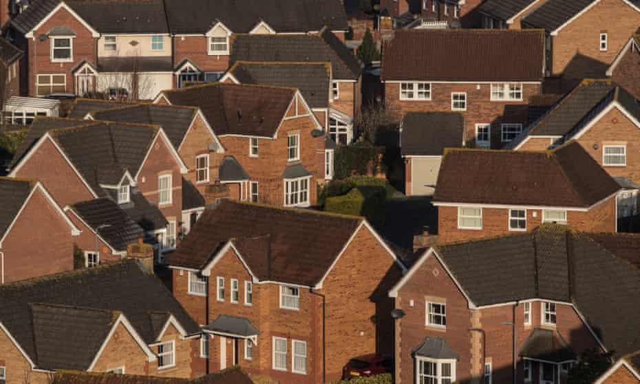 Houses in Glastonbury