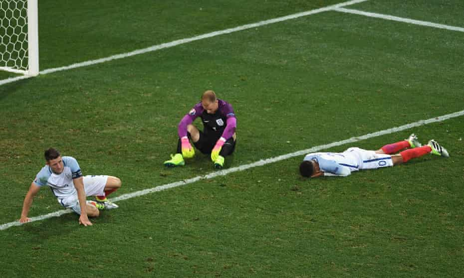 Gary Cahill, Joe Hart and Dele Alli reflect on another disappointment for the England football team.